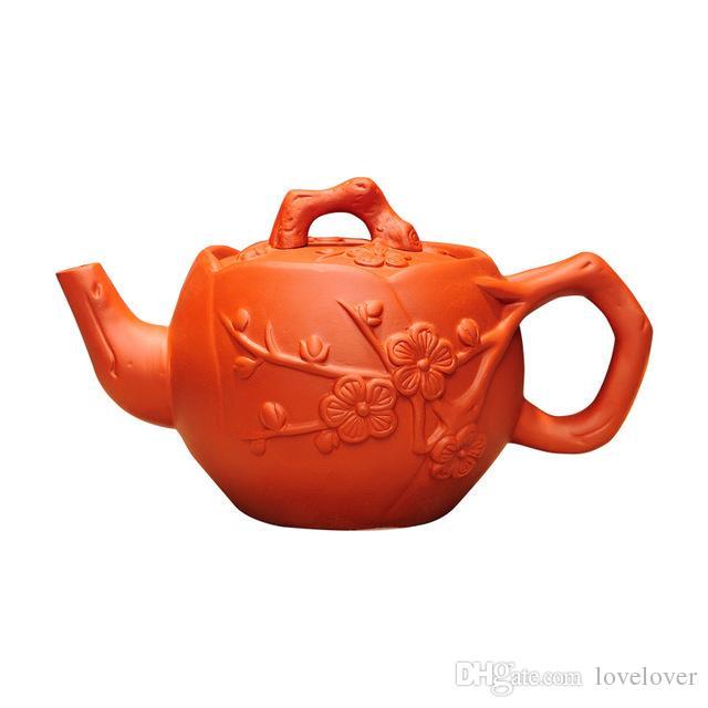 purple sand teapot purely manual teapot brewing household brewing teapot purple clay tea set 550ml large capacity kung fu tea pot