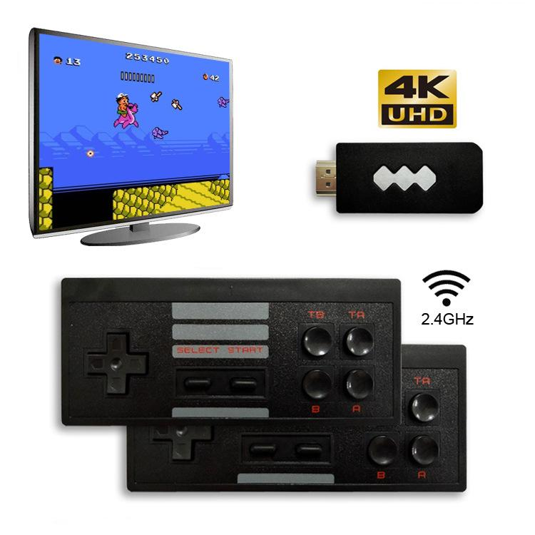 4K HDMI 2.4G Wireless Video Game Player Portable Handheld Game Consoles 1080P Classic Retro 818 Games Controller Best Toys