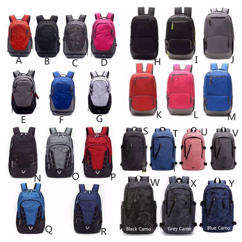 학생 학교 가방 유니섹스 배낭 캐주얼 하이킹 캠핑 배낭 방수 여행 노트북 숄더 가방 대용량 26 색