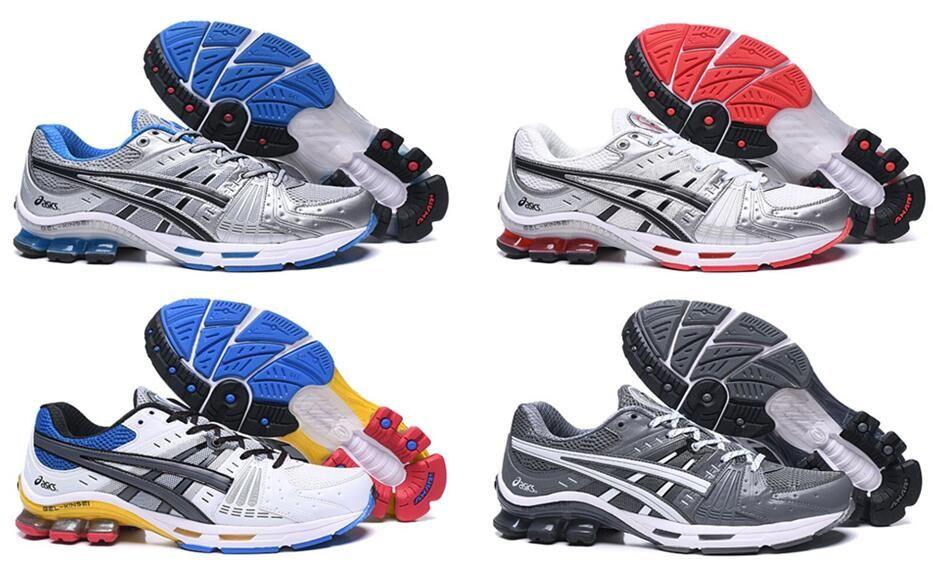2020 GEL-Kinsei OG Aimant solide gris Lyte MT desiger Chaussures Hôpital Inertie Utility statique Noir Hommes Femmes en cours 40,5 à 45