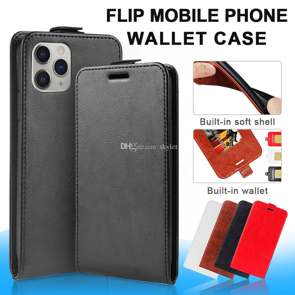 Durable Soft Wallet Cover for iPhone 11 Pro PU Leather Flip Case for iPhone 11 Pro