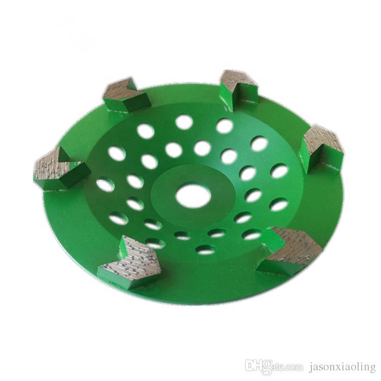 5 Inch Diamond Polishing Pad 15 PCS /& 2 Pcs 5 Inch Turbo Row Grinding Cup Wheel
