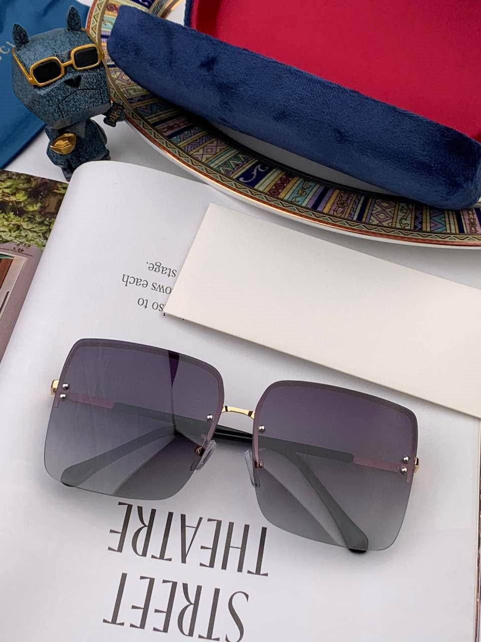 Verano para mujer para hombre de las gafas de sol G09008 Cartas de los anteojos de sol UV400 de 3 colores con alta calidad con la caja