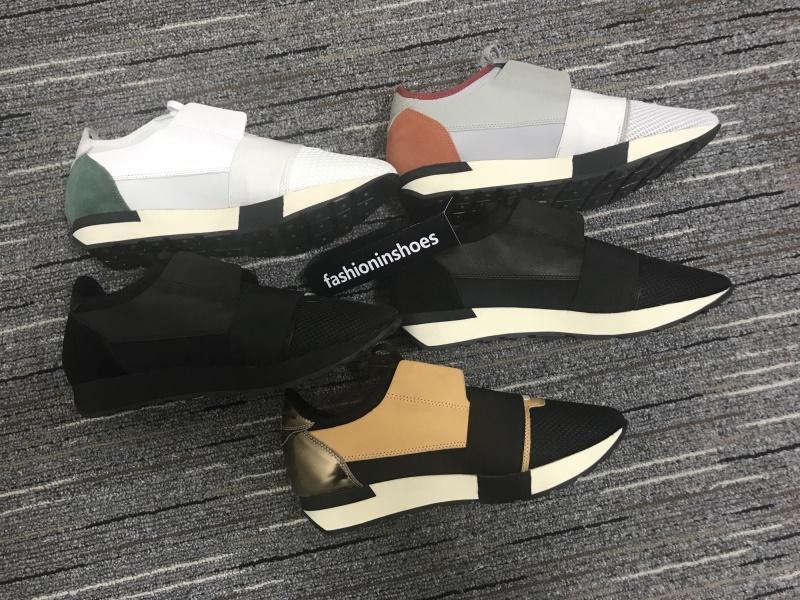 fashioninshoes pattini del progettista corridori corsa di lusso degli uomini traccia Trainer cc Triple S della scarpa da tennis delle donne inferiori rosse gz epoca velocità sovradimensionato sneaker
