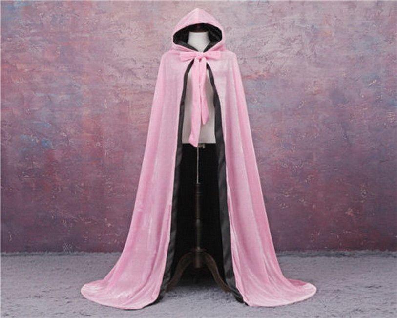 Brasão de casamento nupcial capas com capuz Partido Wraps manto casamento jaqueta de veludo de Natal Mulheres Winter Enrole Cape Fur