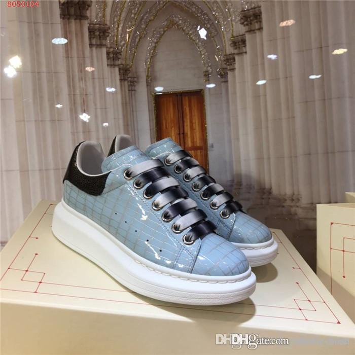 Унисекс спортивная повседневная обувь, имеет лакированную клетчатую клетчатую строчку на Черном хвосте с низким верхом, кроссовки на толстой подошве размер 34-46