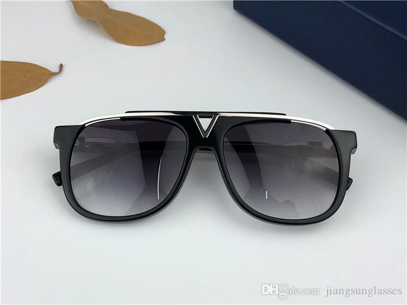 مصمم النظارات الشمسية 0937 رجل نظارات شمس للرجال إمرأة نظارات شمس نساء مصمم للأشعة فوق البنفسجية حماية الصيف نظارات شمس مع صندوق رجل خمر