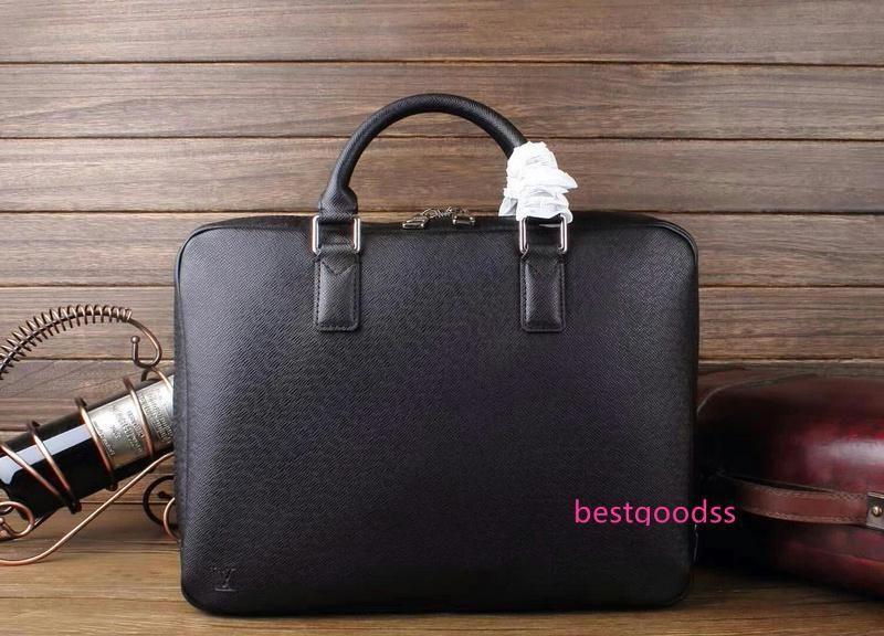 M32782 Pm Men Black Shoulder Bags Hobo Handbags Top Handles Boston Cross Body Messenger Shoulder Bags