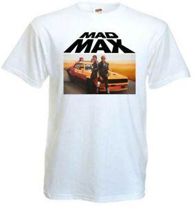 Mad Max I V6 camiseta blanca póster de la película todos los tamaños S 5XL