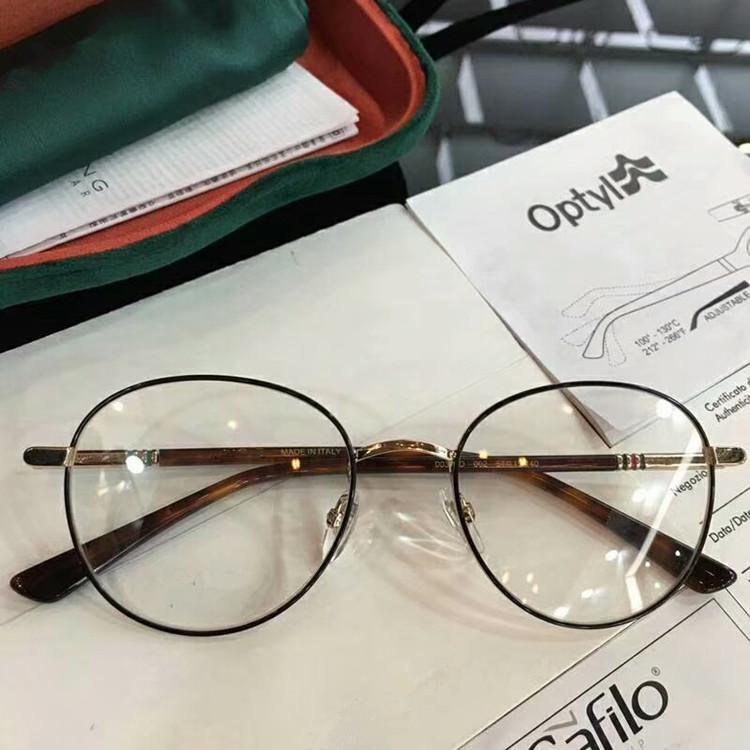 2020 عالية الجودة G03920O ريترو خمر إطار نظارات للجنسين جولة أسلوب وصفة طبية نظارات كامل مجموعة-الحالات OEM المخرج