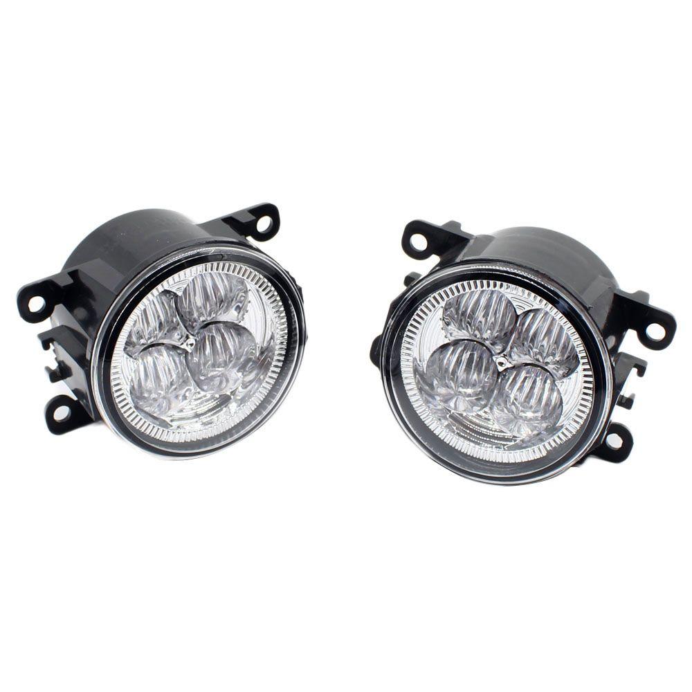 Front Bumper LED Fog Lights High Brightness DRL Driving