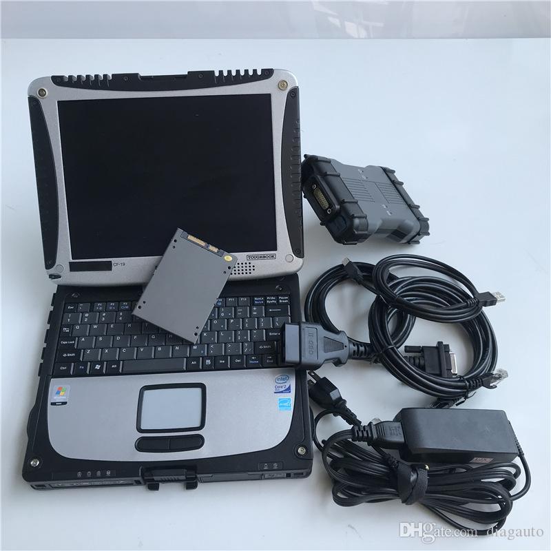 Set complet MB STAR C6 SD C6 X-INTRY DOIP avec CF-19 Ordinateur portable CF19 Toughbook OBD2 Diagnostic Multiplexeur Soft-Ware 2020 Diagnostic de voitures Scanner Scanner