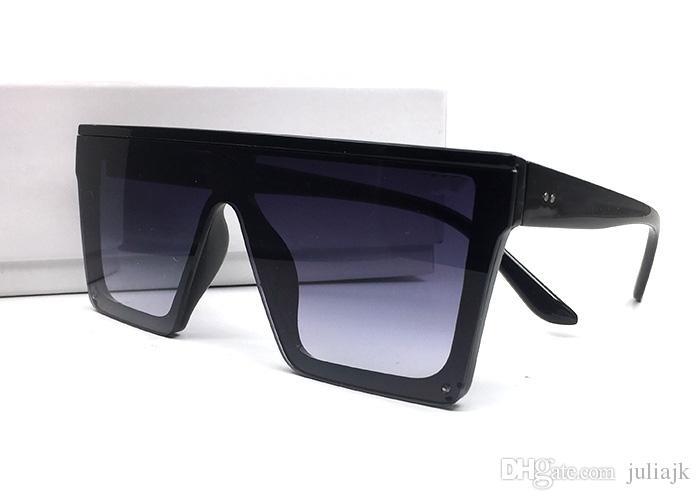 Новые очки старинные негабаритные квадратные рамки летние защиты солнцезащитные очки мужчины популярные новые оттенки ультрафиолетовые моды женщины на открытом воздухе с коробкой RGTAG