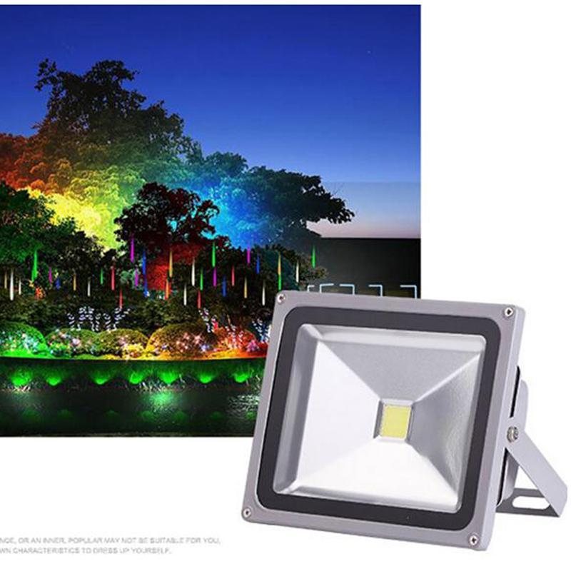 2PCS 30W LED Flood Light Warm White Spotlight Garden Yard Corridor Waterproof