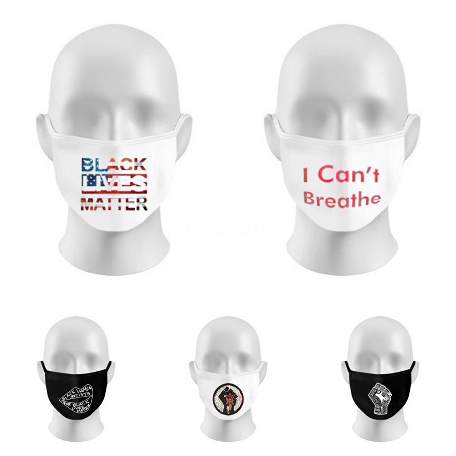 Дизайнерские письмо Маски для лица Многоразовой моющейся пыль Маска защитного многоразового Индивидуального пакет Анти пыль хлопок маска для лица на склад # 270