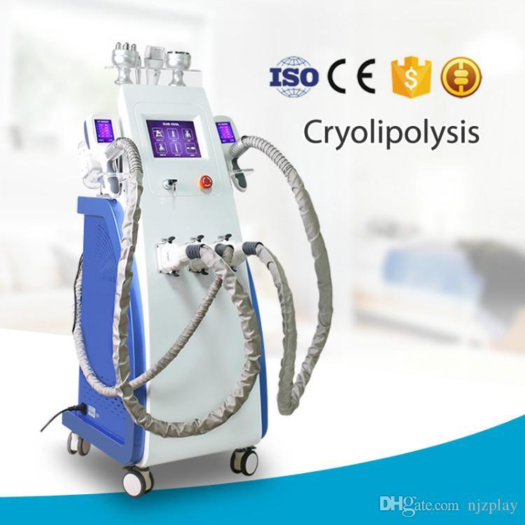 2020 Newest Model Fat Freezing Cryolipolysis Slimming Machine Cryotherapy Lipolaser Machine 3 Cyro Handles Slimming Machine