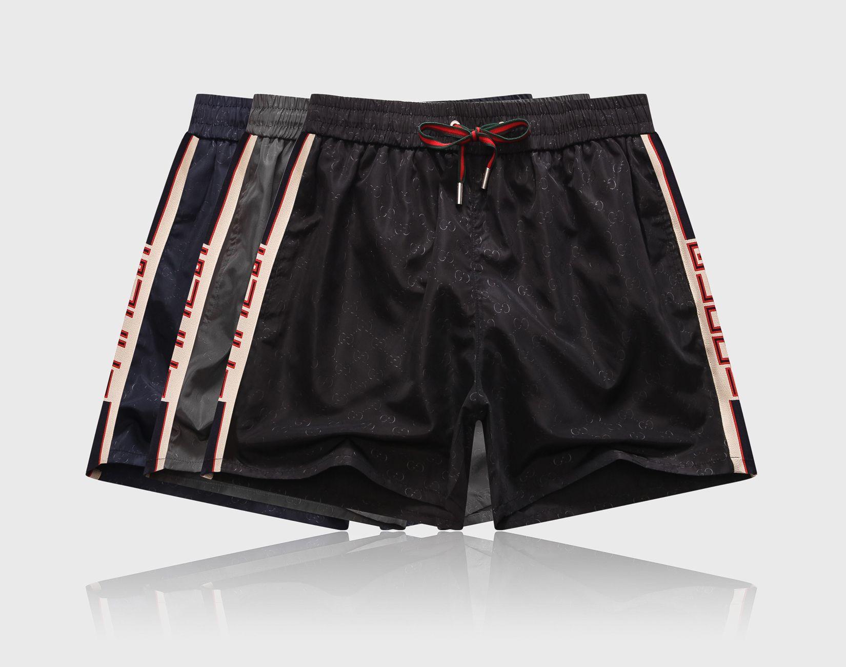 calças de praia de Moda de Nova Mens Shorts Casual Sólidos Conselho Cor Shorts Men Summer Beach Swimming Shorts Men Sports A1