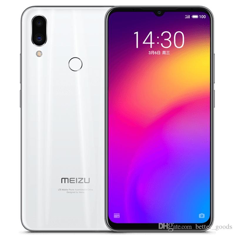 "Original Meizu Note 9 4G LTE Telefone Celular 6 GB RAM 64 GB ROM Snapdragon 675 Octa Core Android 6.2 ""48MP Impressão digital ID da cara Smart Phone"