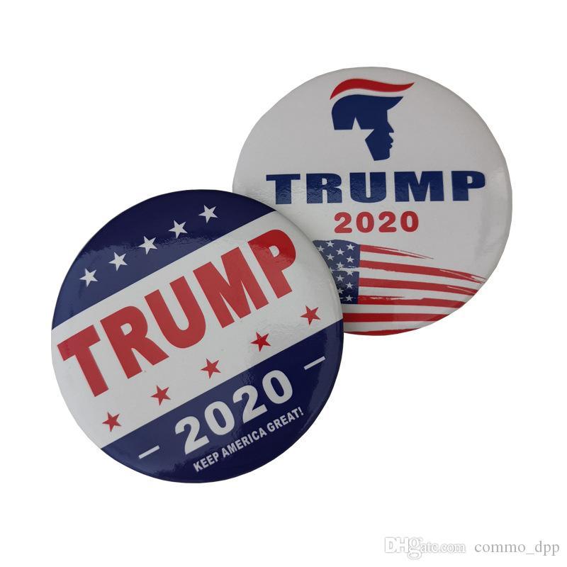 Nuovo Trump 2020 perni del Brooch rendere l'America Great Again per il presidente USA Dome spilla gioielli Button Badge in massa