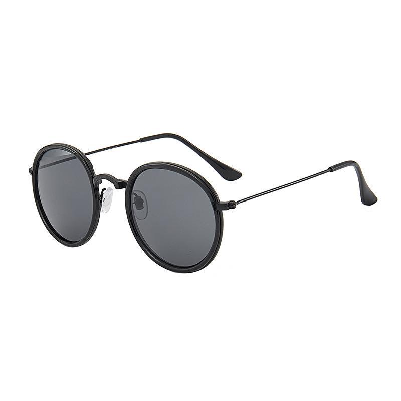 kahverengi durumlarda ve kutu 3448 ile Erkekler Kadınlar metal çerçeve Ayna polaroid Lensler sürücü Güneş Gözlük Yeni Moda Pilot Polarize Güneş Gözlüğü