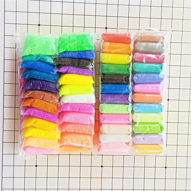 36 الألوان / مجموعة من لعب الأطفال البلاستيسين الطين منتجات الأطفال الناعمة بوليمر