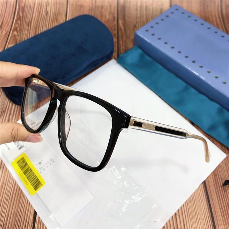 de moda de luxo Brand-designer de charment óculos retro quadro prescrição Steampunk Mulheres copos retro dos vidros homens ópticos eyewear 0561O
