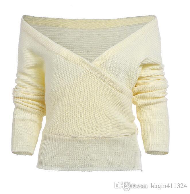 Women's Sweaters Fast-selling Euro-American blockbuster autumn and winter knitted turtleneck sweaterWomen's Cloth woman wish Amazo