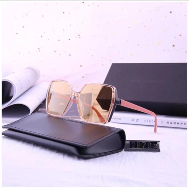 Gafas de sol Gafas de sol de diseño de lujo de diseño de moda de los vidrios de la mujer del hombre de los vidrios UV400 5Color oferta con la caja de alta calidad de la marca Y297