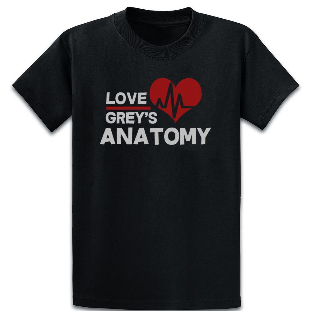 Amore Grays t-shirt umoristiche Primavera Autunno Vintage girocollo manica corta Interessante disegnare abiti Camicia
