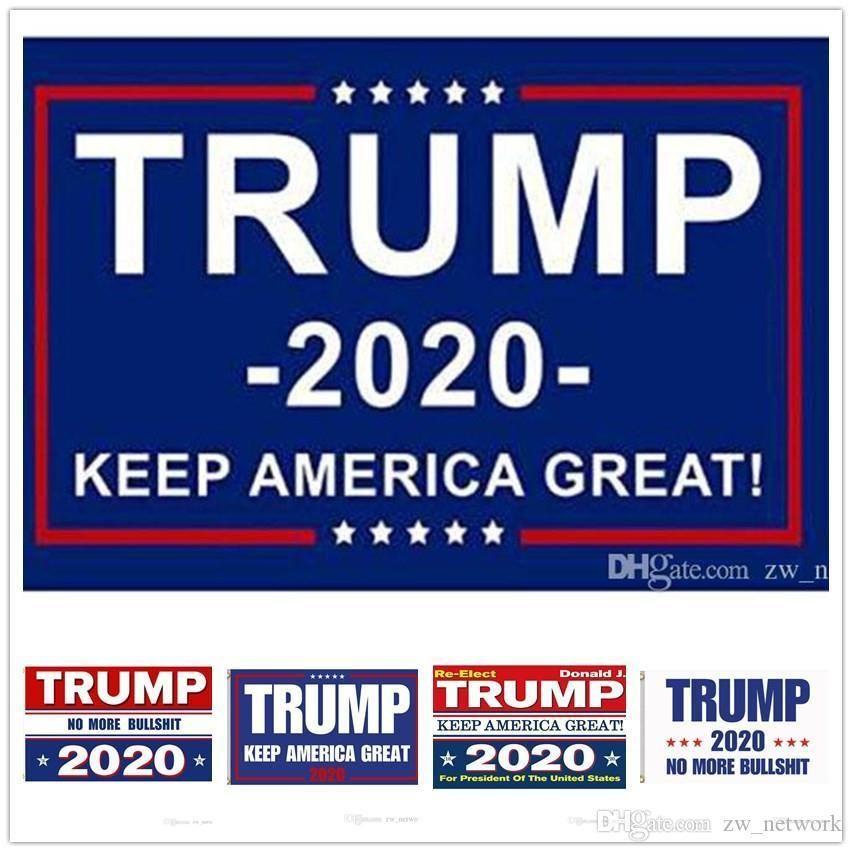 Más baratos Banderas Trump B 1000pcs Trump 2020 Mantener Great American Nuevamente indicador de la bandera USA Flags presidente de la elección