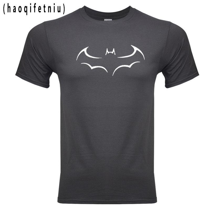 2020 Hot Summer Superman Batman Hombres camiseta 100% algodón de alta calidad Marca camiseta de los hombres Deportes Loose Fit animado camisa para las fans Garden2010
