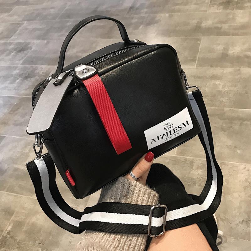 bolsas de alta qualidade Boston Mulheres saco crossbody ampla alça de ombro diagonal de mulheres especiais bolsa
