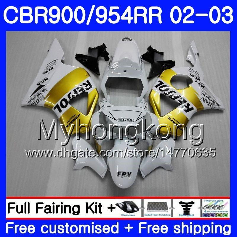 Motorcycle Complete Fairing Bolt Kit Generic for Honda CBR900RR CBR954 2002 2003