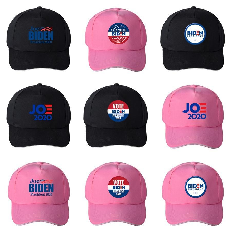 Heißer Verkaufs-Designer Donald Biden 2020 Cap Halten Sie Amerika Große Brief Stickerei Cotton Curved Baseballmütze Erwachsene Frauen der Männer Sport Hüte # 930