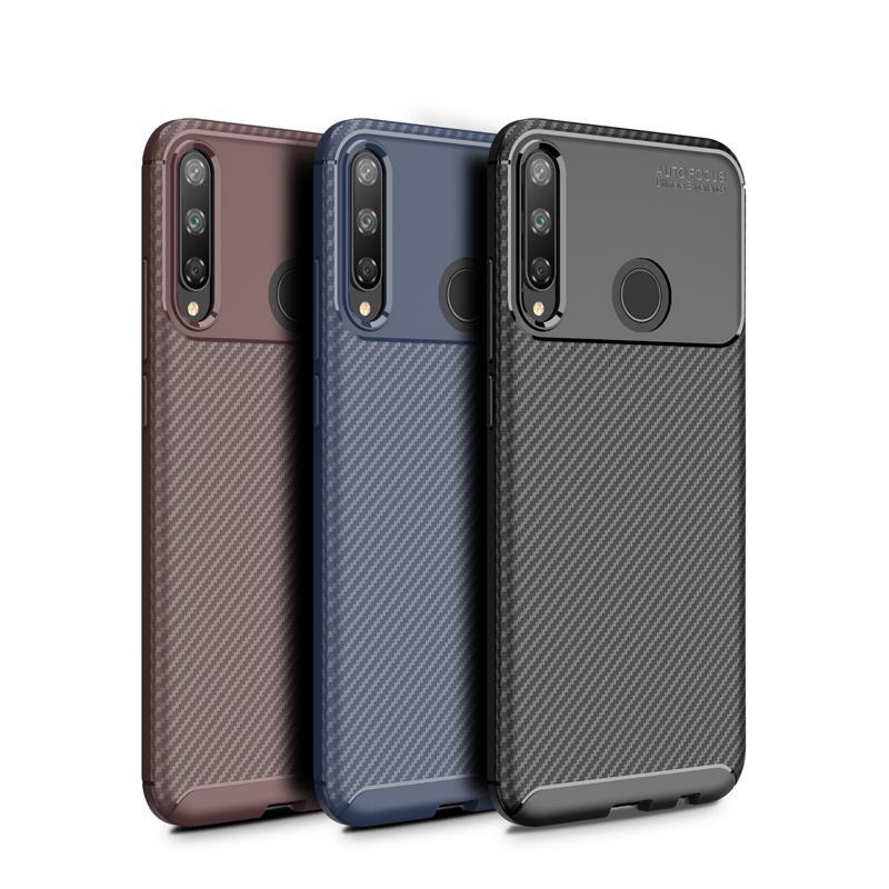 Huawei Y7 Pro Silikon Ultra ince Buzlu Rahat hissedin Telefon Arka Kapak için Beetle Şok geçirmez kılıf