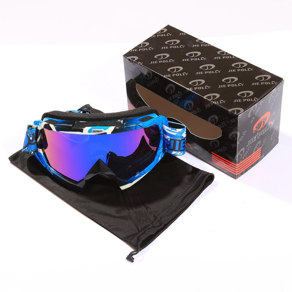Ski Glasses Goggles Ski Skiing Snowboard Gafas Sports UV40 Sunglasses Men Women Multi-color Lens Skating Anti-wind Y200616