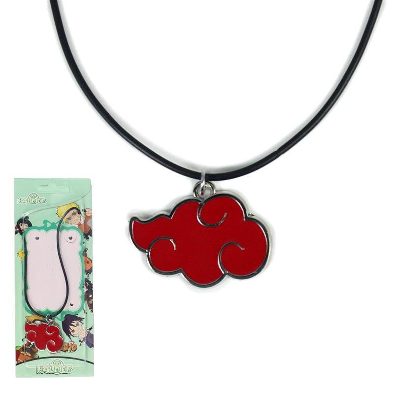 Anime Naruto Necklace Red