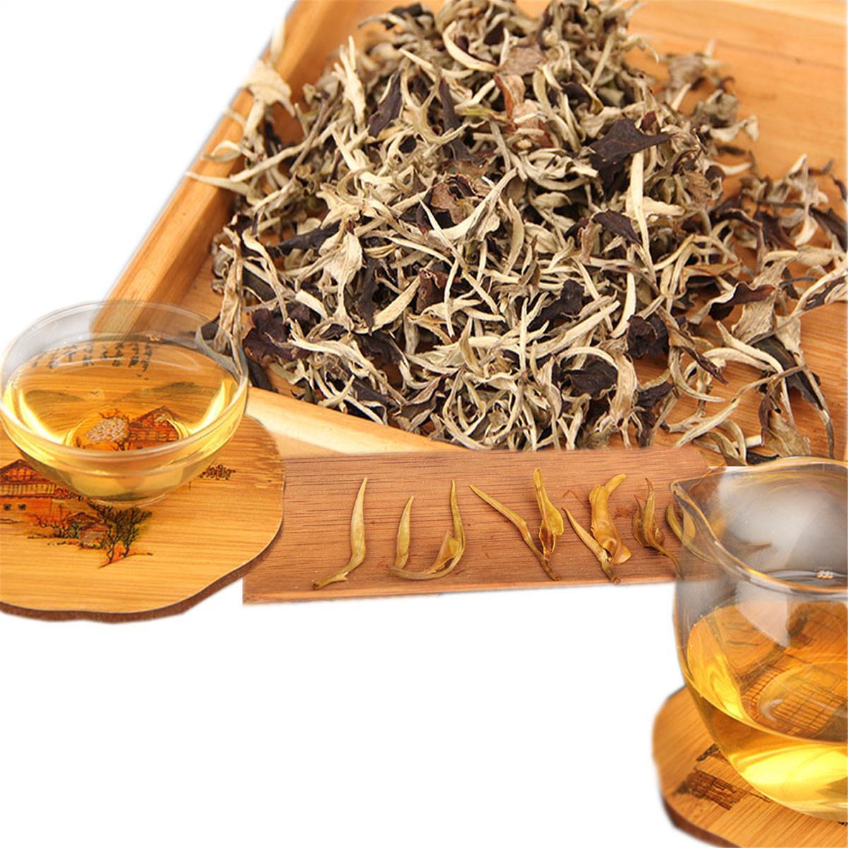 Yunnan One Bud One Leaf Moonlight White Pu er Tea Loose Raw Pu Er Tea Organic Pu'er Oldest Tree Green Puer Natural Puerh Tea