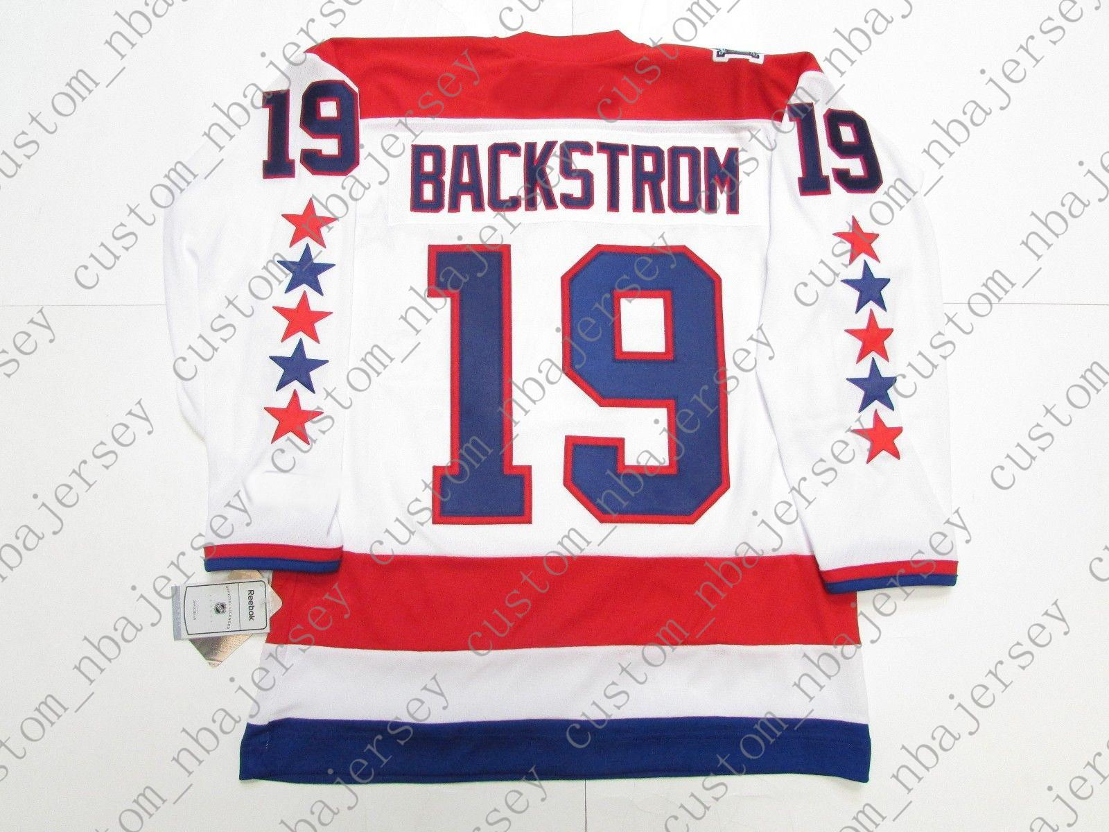 huge discount 5ecac ad6a3 Cheap Custom Nicklas Backstrom WASHINGTON CAPITALS 2011 WINTER CLASSIC  HOCKEY JERSEY Stitch Add Any Number Any Name Hockey Jersey XS 5XL UK 2019  From ...
