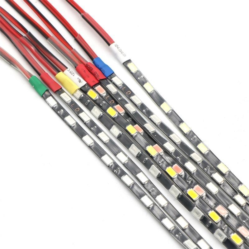 90cm / Pcs SMD 5730 LED bande souple bande 60LEDs / Pcs PCB étroit étanche 5 mm Largeur Blanc Bleu Rouge Ice Blue
