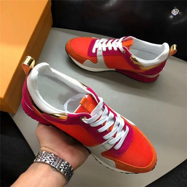 Designer Men Casual Shoes Cheap migliore qualità superiore delle donne degli uomini di moda delle scarpe da tennis del partito Runner Scarpe Sneakers lk003