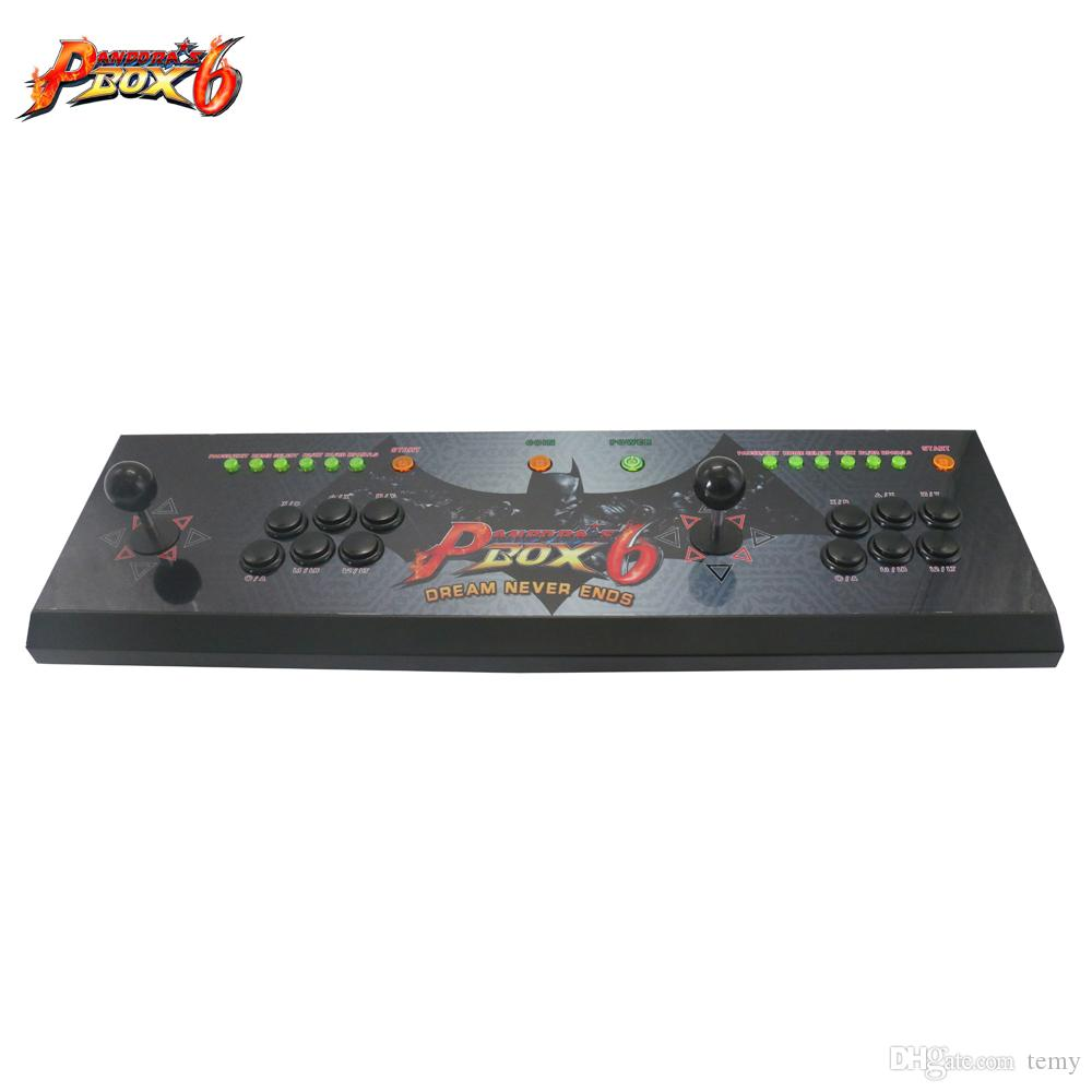 The new upgrade Video mini game machine with Pandora's Box 6 Jamma game board,multi games 1300 in 1 Household game machine
