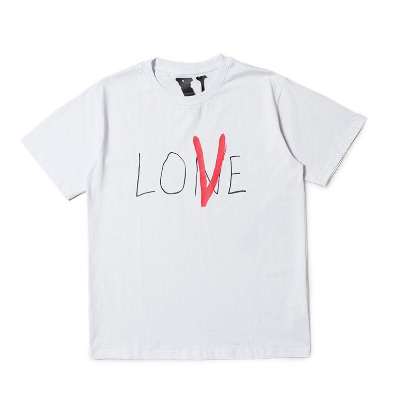 Vlone Mens T Shirt Stylist Mens Casual Short Sleeves Vlone Men Women Hip Hop T Shirt