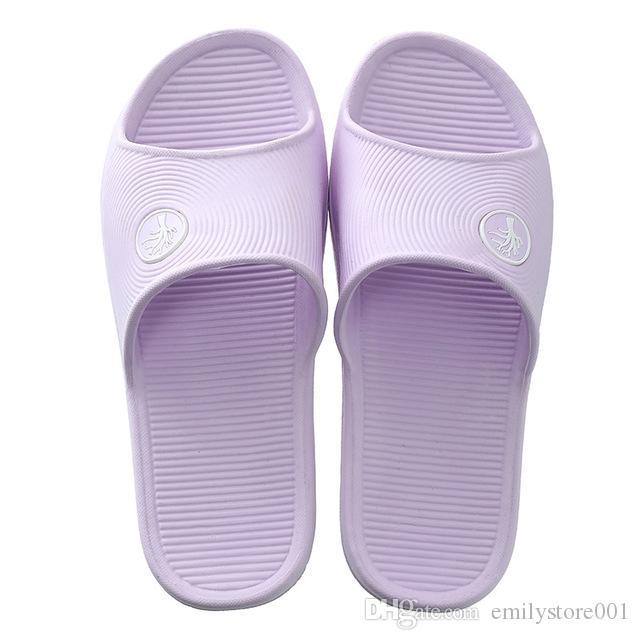 07-06-SL210 Yeni Moda Ev Terlik Erkek Kapalı Terlik Erkek Ev Sandal Banyo Kaymaz Yumuşak Alt
