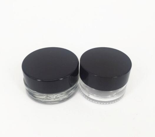 Yeni Clear Göz Kremi Kavanoz 3g 5g Kalın Bottom ile Cam Dudak Konteyner Geniş Ağız Kozmetik örnek Jar boşaltın