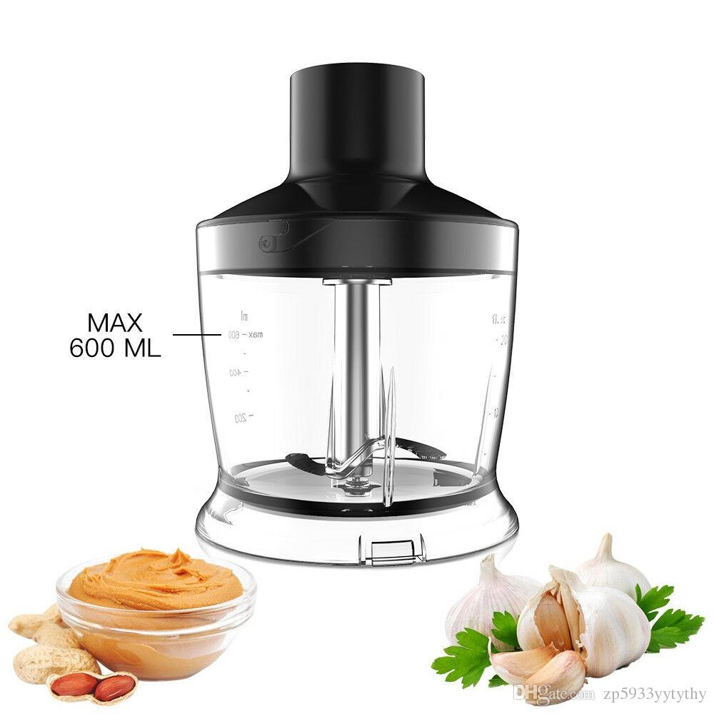 800W More Than 9 Smart Speed Hand Blender Immersion Stick Electric Chopper Mixer