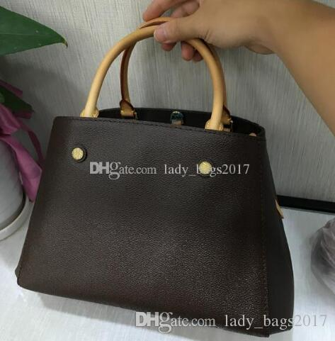 Bolsa de cuero bolso de mano bolso floral mujeres crossbody prints Big Messenger Hombro Bolsos de hombros Classic Montaigne Shopper Bolsas CIPRW