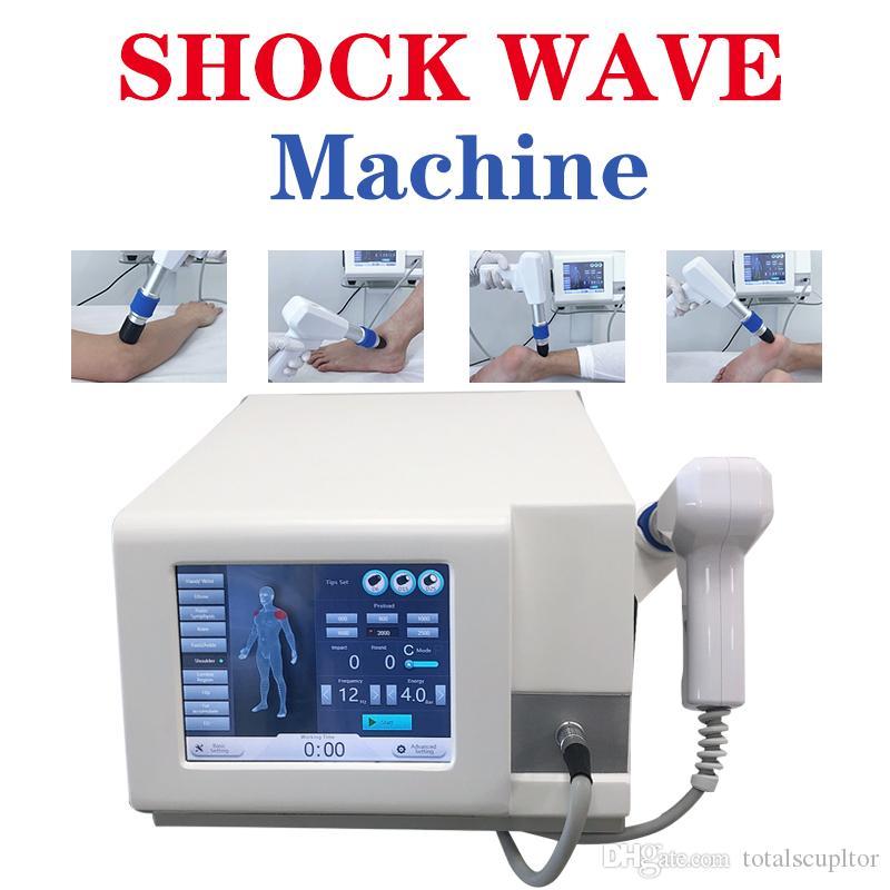 Fizyoterapi pnömatik balistik terapi ekipmanları bacak masajı makinası yüksek potansiyele sahip terapi cihazı SW8 Sıcak Şok Dalga Tedavisi Ekipmanları