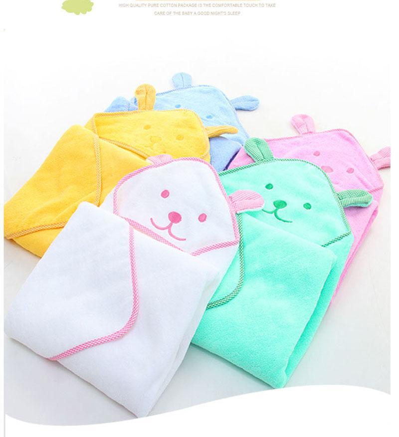 Serviette de bain bébé nouveau-né confortable doux bébé capuche Peignoir plage animal mignon coton serviette enfants Les bébés Blanket de haute qualité 2020 nouvelle chaude