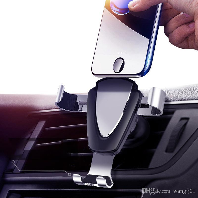 Держатель Гравитация автомобиля для телефона в автомобиле Air Vent Клип Маунт Нет Магнитный держатель мобильного телефона мобильного стенд поддержки для IPhone 11 горячих